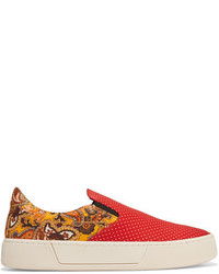 Bedruckte slip on sneakers original 9768716