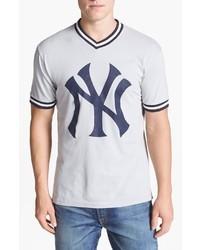 Bedrucktes t shirt mit v ausschnitt original 4027710