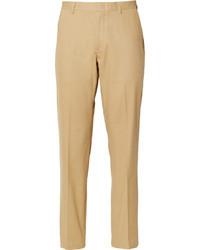 beige Anzughose