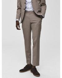 beige Anzughose von Selected Homme
