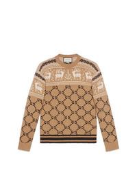 new product 8b64c f32d2 Modische beige Pullover für Herren von Gucci für Winter 2019 ...