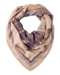 beige bedruckter Schal von Even&Odd