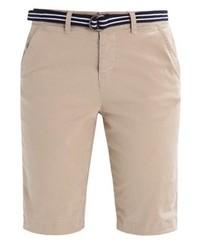 beige Bermuda-Shorts von Superdry