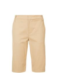 beige Bermuda-Shorts von Vince