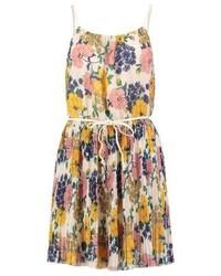 beige Camisole-Kleid mit Blumenmuster von Molly Bracken