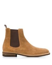 beige Chelsea Boots aus Wildleder von Brunello Cucinelli