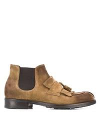 beige Chelsea Boots aus Wildleder von Doucal's
