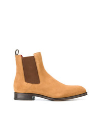 beige Chelsea-Stiefel aus Wildleder von Alexander McQueen