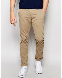 beige Chinohose von Selected