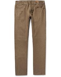 beige enge Jeans von Jean Shop