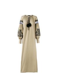 beige Folklore Kleid von Wandering