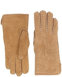 beige Handschuhe von Dents