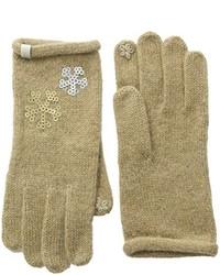 beige Handschuhe von Esprit