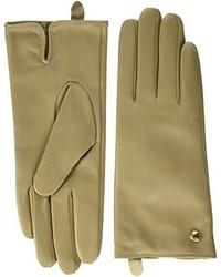 beige Handschuhe von GUESS