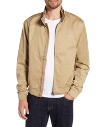 beige Harrington-Jacke