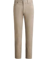 beige Jeans von Ermenegildo Zegna