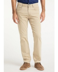 beige Jeans von Pioneer Authentic Jeans