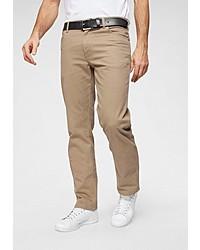 beige Jeans von Wrangler