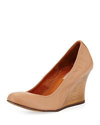 Beige keilpumps original 9367547