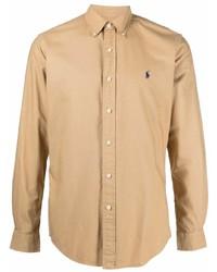 beige Langarmhemd von Polo Ralph Lauren