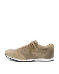 beige Leder niedrige Sneakers von SPIETH & WENSKY