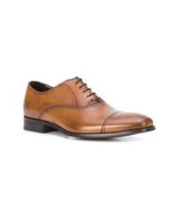 beige Leder Oxford Schuhe von To Boot New York