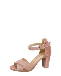 beige Leder Sandaletten von Pavement