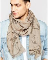 beige leichter Schal von Esprit