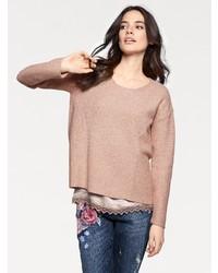 beige Oversize Pullover von B.C. BEST CONNECTIONS by Heine