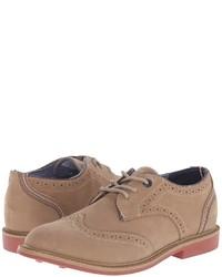 beige Oxford Schuhe