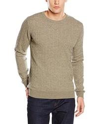 beige Pullover von Minimum