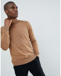 beige Rollkragenpullover von French Connection