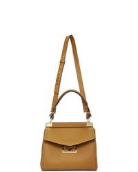 beige Satchel-Tasche aus Leder von Givenchy