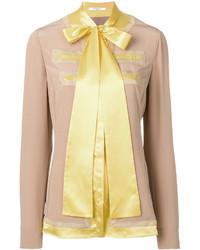beige Seide Bluse von Givenchy