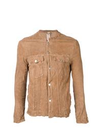 beige Shirtjacke von Giorgio Brato