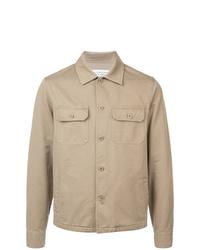 beige Shirtjacke von Maison Margiela