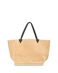 beige Shopper Tasche aus Leder von Altuzarra