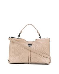 beige Shopper Tasche aus Leder von Bottega Veneta