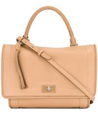 beige Shopper Tasche aus Leder von Givenchy