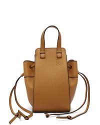 beige Shopper Tasche aus Leder von Loewe