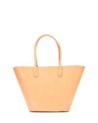 beige Shopper Tasche aus Leder von Mansur Gavriel