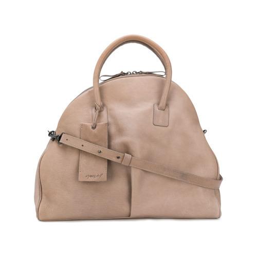 28d1d910973bb ... beige Shopper Tasche aus Leder von Marsèll ...