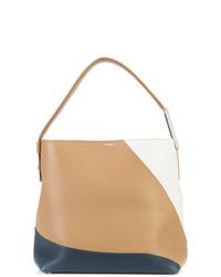 beige Shopper Tasche aus Leder von Perrin Paris