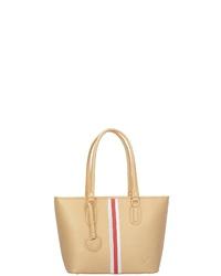 beige Shopper Tasche aus Leder von Sansibar