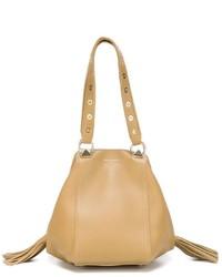 beige Shopper Tasche aus Leder von Sonia Rykiel