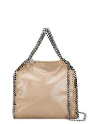 beige Shopper Tasche aus Leder von Stella McCartney