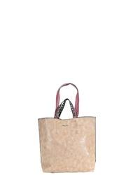 beige Shopper Tasche aus Leder von Tamaris