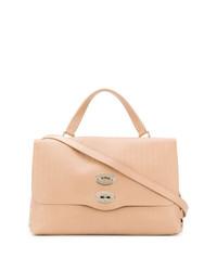 beige Shopper Tasche aus Leder von Zanellato