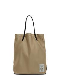 beige Shopper Tasche aus Segeltuch von Tiger of Sweden