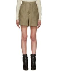 beige Shorts von Isabel Marant